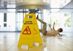 Fort Myers wet floor sign