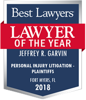 Fort Myers Best Lawyers Personal Injury Litigator of the Year