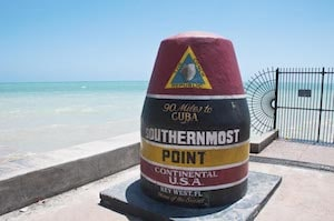 Southernmost Point Continental in Key West