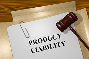 Product Liability title on Legal Documents